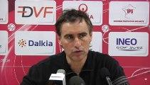 Face Caméra du 6 Décembre 2013 : Interview d'Olivier Dall'Oglio après le match Fabrègues-DFCO en coupe de France