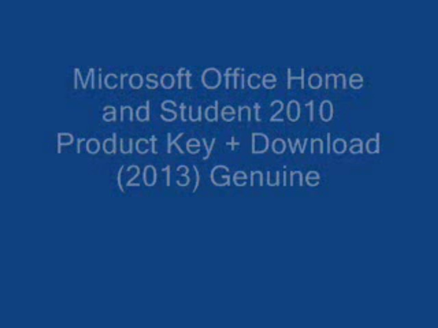 microsoft 2010 product key home and student