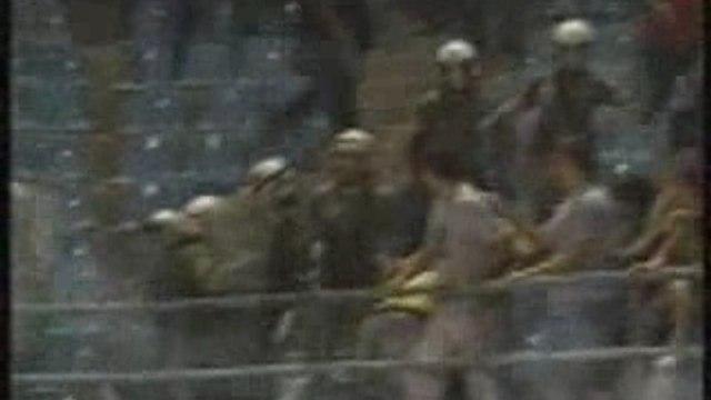 Incidents Atromitos - AEK Athènes