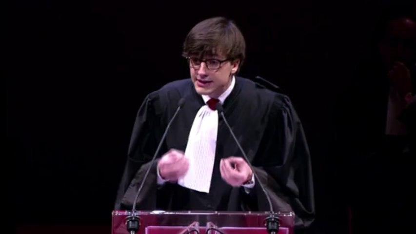 RENTREE 2013 : discours d'Alexandre Vermynck, 1er secrétaire de la Conférence