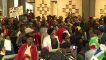 Afrique du Sud: cérémonie d'hommage à Mandela au stade de Soweto