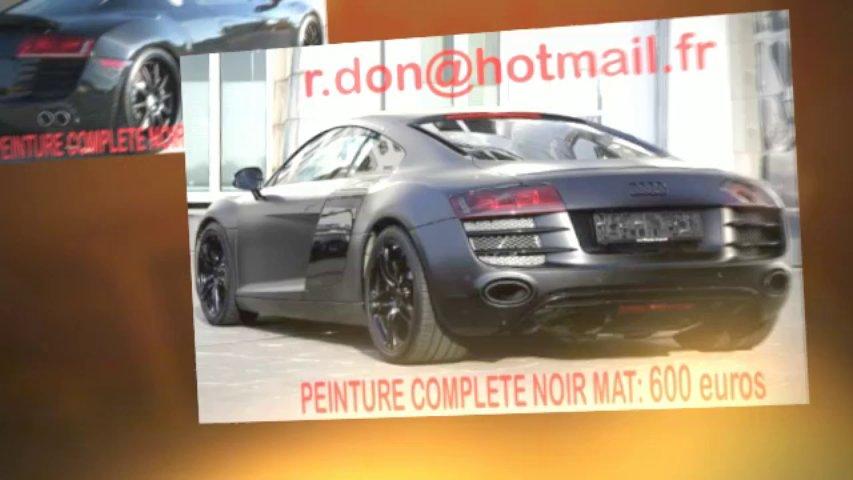 Audi R8 noir mat, Audi R8 noir mat, Audi noir mat, Audi R8 Covering noir mat, audi R8 peinture noir mat, Audi R8 noir mat