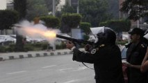 Egypt police clash with pro-Morsi students