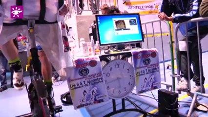 Téléthon 2013 : Record du monde de vélo indoor à Prunelli di Fiumorbo, la suite ! (2B)