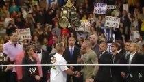 WWE RAW Slammy awards 2013 [HBK] Sweet Chin Music CM Punk & Triple H Pedigrees Randy Orton