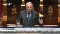 Travaux en séance : Débat sans vote à la suite de la décison du gouvernement de faire intervenir les forces françaises en République centrafricaine.