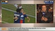 Le Soir BFM: Ligue des champions: PSG s'incline 2 buts à 1 face à Benfica - 10/12 2/3