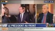 Le Soir BFM: Centrafrique: une visite à Banguide Hollande sous très haute tension - 10/12 3/3