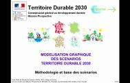 Territoire Durable 2030 : modélisation graphique des scénarios - Méthodologie et base des scénarios - GEOPROSPECTIVE - TD30