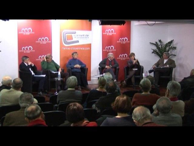 """""""Paroles de Chrétiens sur l'écologie"""" - Loïc Lainé, André-Hubert Mesnard, Arnaud Du Crest, Elisabeth Guist'hau - Questions Publiques du 09.12.13"""