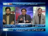 NBC On Air EP 156 (Complete) 10 Dec 2013-Topic- Sindh, Punjab local body elections, NATO supply, Karachi operation, CJP   retirement, India election. Guest-Fayyaz ul Hassan Chohan (PTI),Shaukat Basra (PPP), Kamran Murtaza (Senior Lawyer).