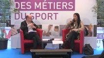 Isabelle SEVERINO - Ancienne gymnaste reconvertie Comité Olympique