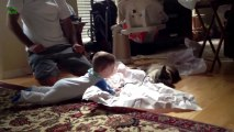 Adorable Babies Laughing at Cats - Funny Compilation 2013