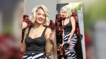 Rita Ora Sizzles on a Material Girl Photoshoot
