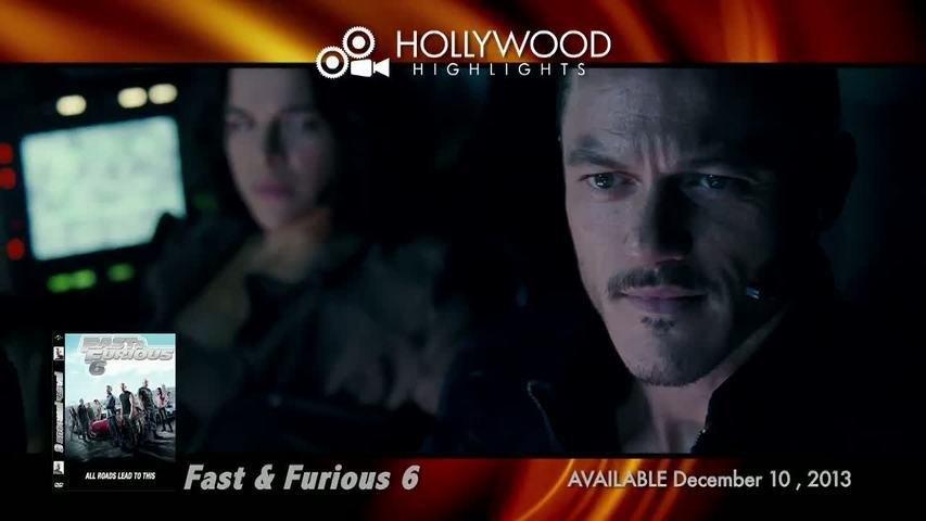 JUST RELEASED: Paul Walker, Vin Diesel & The Rock in FAST & FURIOUS 6 Blu-ray-DVD