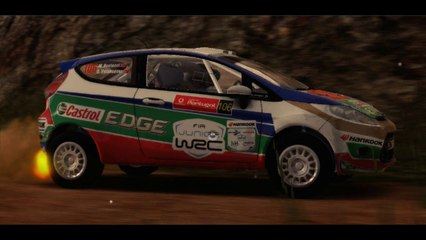 WRC 4 - Ford Fiesta R2, Portugal SS Loule, Onboard and Replay TV Cam
