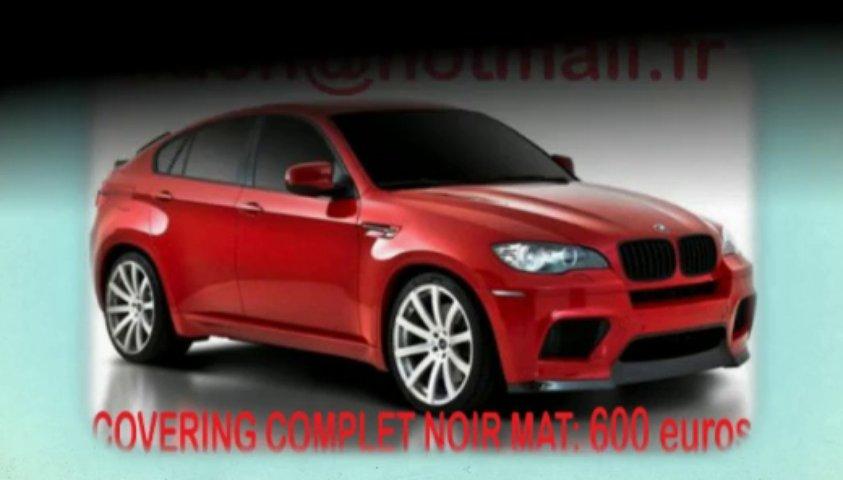 BMW X6 noir mat, BMW X6 noir mat, BMW noir mat, BMW X6 Covering noir mat, BMW X6 peinture noir mat, BMW X6 noir mat