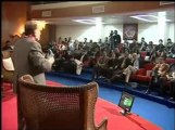 Orya Maqbool Jan Columnist, senior Journalist speaking at Hajvery University HU