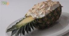 Recette de l'Ananas meringué - 750 Grammes