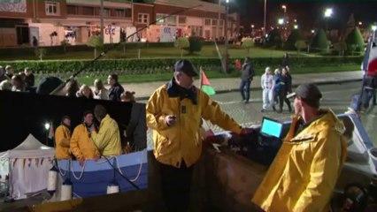 Téléthon 2013 : coulisses de la Caravane du Nord France Télévisions à Calais (62)