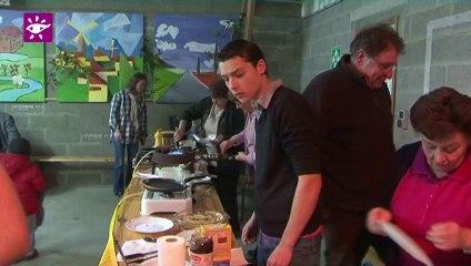 Téléthon 2013 : Soirée crêpes à Wicquenghem (62)