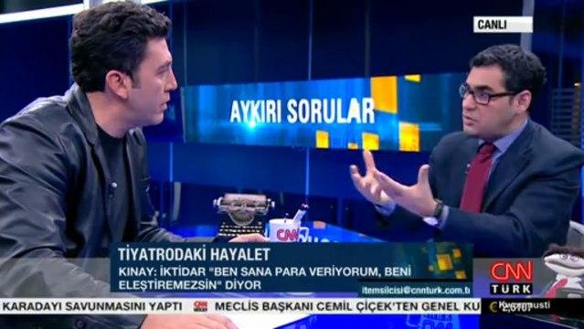 Emre Kınay ; Enver Aysever İle Aykırı Sorular Programı 12.12.2013