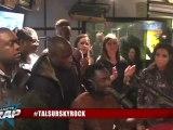 """Tal """" We Are the World """" ( Cover Michael Jackson ) en live dans Planète Rap."""