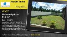 A vendre - Maison/villa - Ducos (97224) - 4 pièces - 113m²