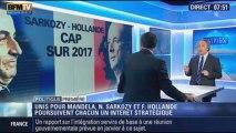 Politique Première: Nicolas Sarkozy et François Hollande unis pour Mandela - 13/12