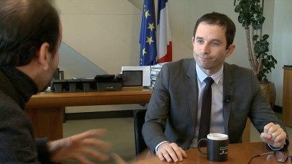 3ème Forum Fondation RTE - Interview de Benoît Hamon