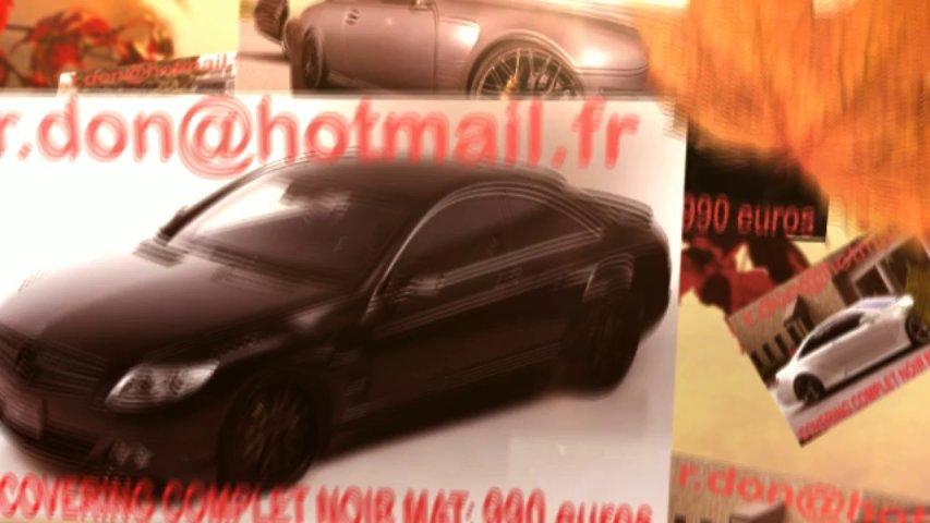 Mercedes CL noir mat, Mercedes CLnoir mat, Mercedes noir mat, Mercedes CL Covering noir mat, Mercedes CL peinture noir mat, Mercedes CL noir mat