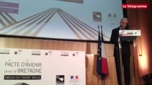 """Pacte d'avenir à Rennes. Ayrault : """"La France n'a pas à craindre des identités régionales"""""""