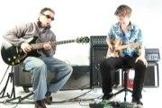 Blues Guitar - Claude Johnson and Sol Philcox Jam the Blues part 1