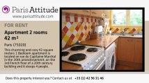 1 Bedroom Apartment for rent - Gambetta, Paris - Ref. 2642