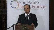 Entretien avec M. Geraldo ALCKMIN, gouverneur de l'Etat de Sao Paulo au Palais dos Bandeirantes - Signatures d'accords