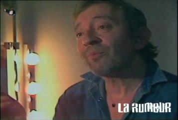 Serge Gainsbourg et Marine Le Pen