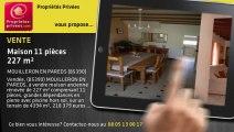 A vendre - maison - MOUILLERON EN PAREDS (85390) - 11 pièces - 227m²