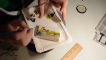 Miniature Time Lapse Speed Painting - Field Mice