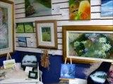 Visite de l'Atelier de Arlette Paradis Artiste Peintre