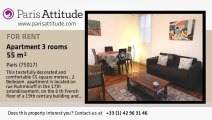 2 Bedroom Apartment for rent - Porte Maillot/Palais des Congrès, Paris - Ref. 8055