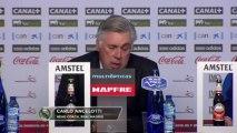 """Ancelotti: """"¿Lo de Ramos? No sé, no sé..."""