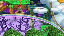 New Super Mario Bros U Walkthrough 42 Soda Jungle Secret Level All Star Coins HD 1080p Wii U