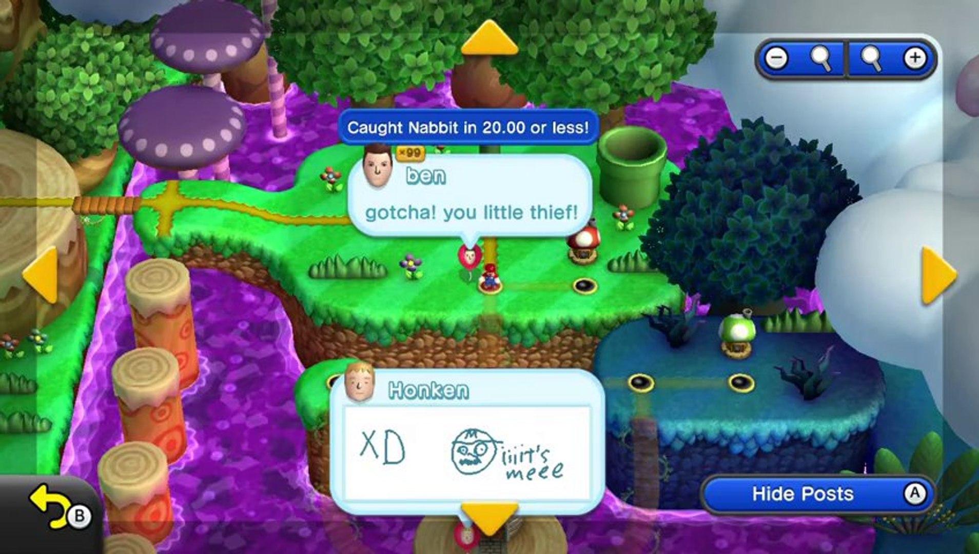 New Super Mario Bros U Walkthrough 35 Soda Jungle Airship All Star