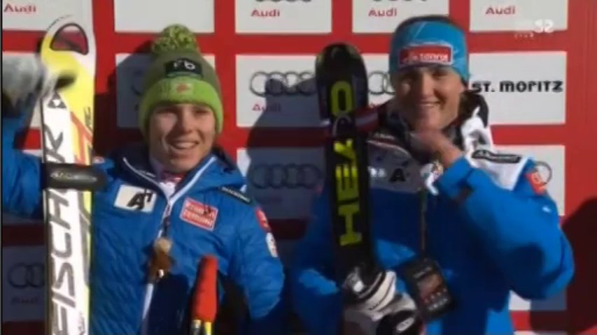 Ski Alpine World Cup Women's – SuperG ST.Moritz