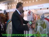 Ahmed Riaz of Ayyan Creation Commenting on mega trade exhibition in Expo Lahore.