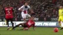But Edinson CAVANI (90ème +1) - Stade Rennais FC - Paris Saint-Germain - (1-3) - 14/12/13 (SRFC - PSG)