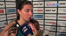 """Championnats d'Europe de Natation / Bonnet : """"Je suis contente"""" - 15/12"""