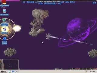 xBRYAN2000x - Swarm DEMO 1998 running on Windows 2000