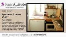 1 Bedroom Apartment for rent - Buttes Chaumont, Paris - Ref. 2531