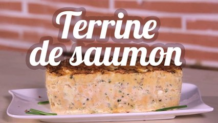 Terrine express de saumon